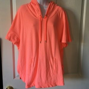 Gap Bright Orange Beach Sweater Cover Up